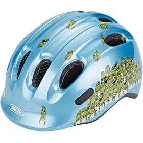 ABUS Smiley 2.0 Helmet Kinder blue croco